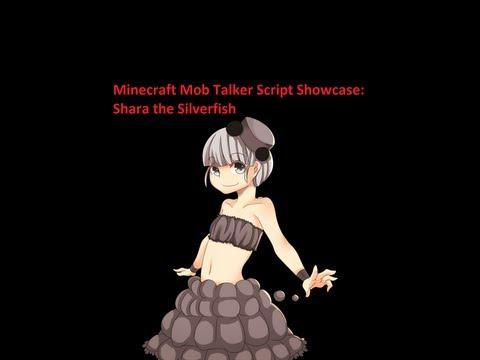 Minecraft Mob Talker Script Showcase: Shara the Silverfish