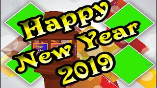 green screen new year 2019 wishes video happy new year 2019 effect background animated video