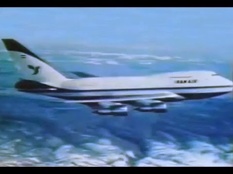 Iran Air Boeing 747SP Commercial - 1977