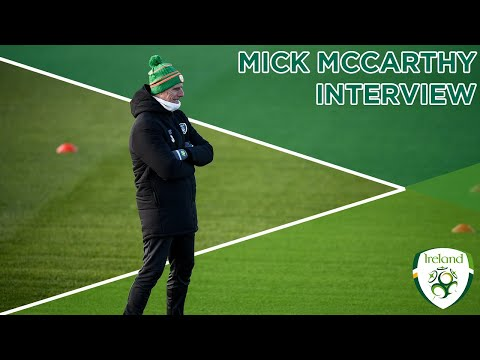 MICK MCCARTHY INTERVIEW | Ireland manager talks all from the upcoming winter period to VAR.