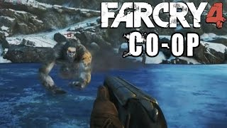 KNIFE BATTLE - Farcry 4 Valley of Yetis Coop w/ Nova