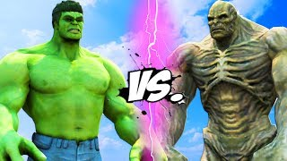 THE HULK VS ABOMINATION - EPIC BATTLE