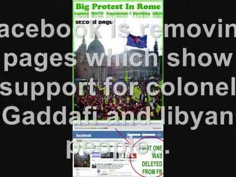 Libya  Media war, lies and propaganda 18 09 2011 LIBYA ON WAR