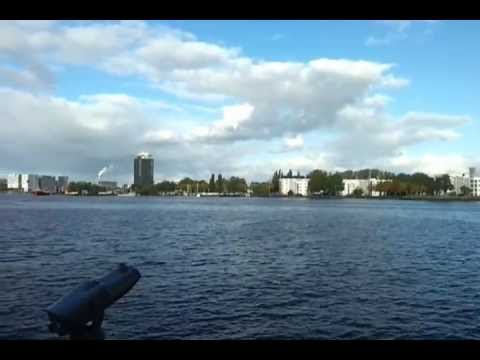 AMSTERDAM GUIDE view Harbour and cruise terminal part 2