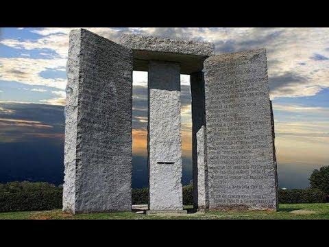 GEORGIA GUIDESTONES MONUMENT SATANIQUE LES COMMANDEMENTS DU DIABLE ?!?! PREUVES ET DEBAT