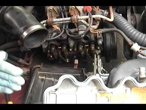 1995 Subaru Legacy - valve cover gasket replacement - full DIY