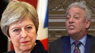 BERCOW'S BREXIT BOMBSHELL: Mister Speaker BLOCKS Theresa May's third vote (full statement)