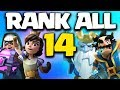Ranking All 14 Legendary Cards In Clash Royale 2018 After Royal Ghost Update mp3