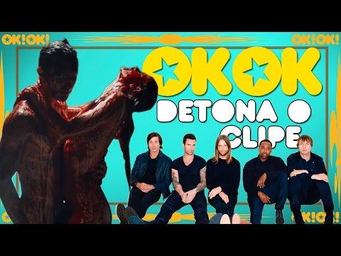 O Instinto Animal Do Maroon 5 | Ok!ok! Detona O Clipe video