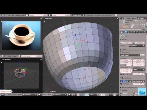 3D моделирование. Blender. Урок 2. Часть 1.