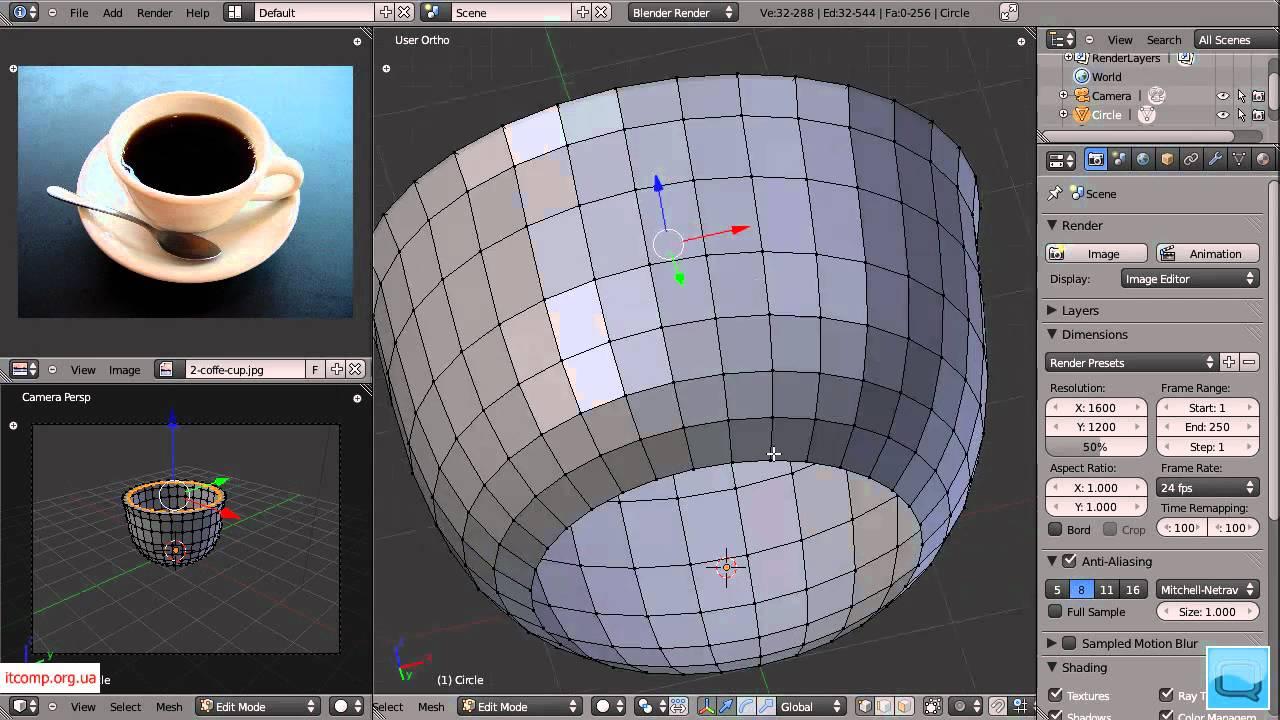 3D моделирование. Blender. Урок 2. Часть 1. Взлом пароля в Mac OS Lion (M