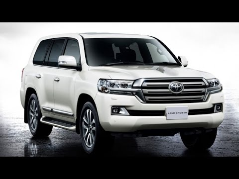 New Land Cruiser 200 Launched by Toyota