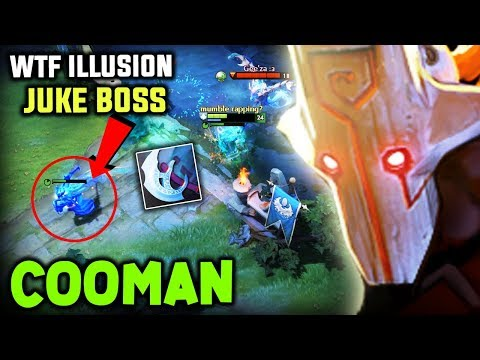 Cooman Juggernaut  200 IQ Insane Illusion Juke Boss Dota 2