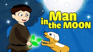 Fairy Tales | The Legend of the Man in the Moon | Watch Cartoons Online English Subtitles