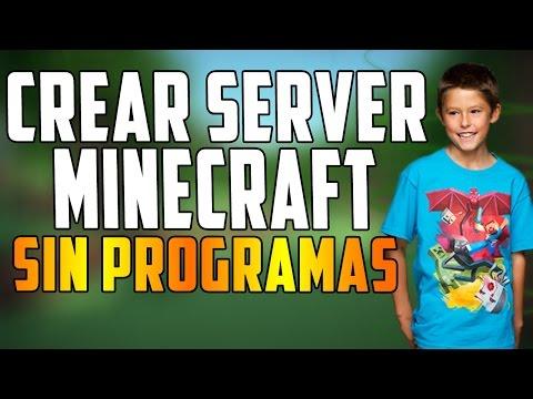 Como hacer un servidor en Minecraft 1.11.2   ¡SIN PROGRAMAS!