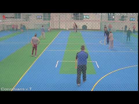 409195 Court2 Willows Sports Centre Cam3 Corinthians v The Sticky Wickets Court2 Willows Sports Cen