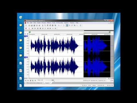 Has tu voz profesional con Sound Forge Pro