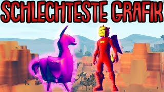 Fortnite mit der SCHLECHTESTEN GRAFIK spielen! | Fortnite Battle Royale