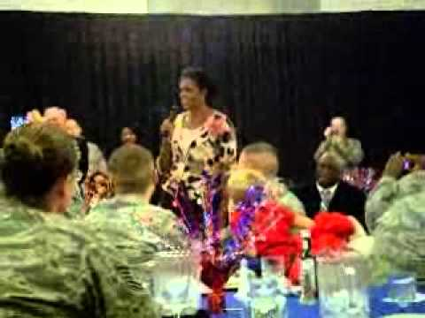 Veterans Day dinner w/Michelle Obama
