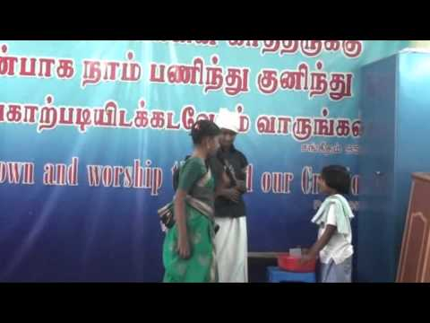 Christian Tamil Skit Camera Roll video