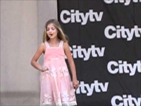 Jackie Evancho, Angel, Toronto Citytv, 05 31 11 video