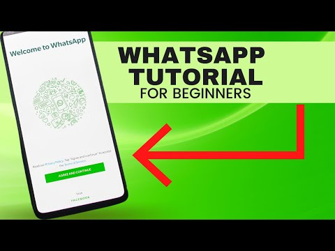 Whatsapp Tutorial For Beginners 2017 How To Use Whatsapp On Android