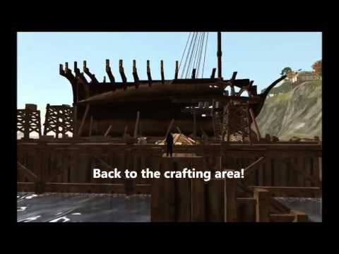 How to Build an Eznan Cutter Archeage Ship