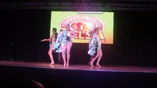 Salsa Caliente Ladies Team at the 2013 Puerto Rico Salsa Congress