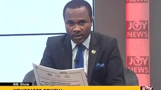 AM Show Newspaper Headlines on Joy News (26-4-17)
