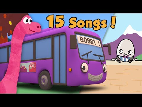 Wheels On The Bus with Bobby The Bus Plus Lots More Nursery Rhymes