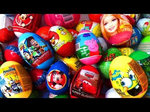 20 Kinder surprise eggs collection toys Kinder Surprise Disney Pixar Zaini - lababymusica