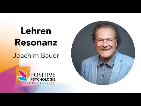 Lehren in Resonanz / Joachim Bauer bei der Positiven Psychologie Tour 2019