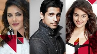 Sunny Skips Her Own Documentary Premiere | Sonakshi Will Not Be My Romantic Interest Says Sidharth