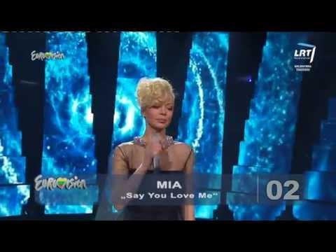 """Atlikėja Vilija Pilibaitytė - Mia Atliko Lyrišką Dainą """"say You Love Me"""" video"""