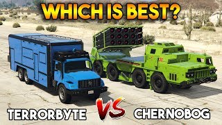 GTA 5 ONLINE : TERRORBYTE VS CHERNOBOG (WHICH IS BEST?)