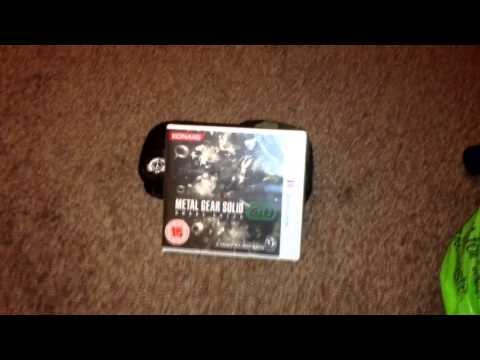 Nostalgamer Reboxes Metal Gear Solid 3D Snake Eater On Nintendo 3DS Part 3 Of 3 Reverse Unboxing