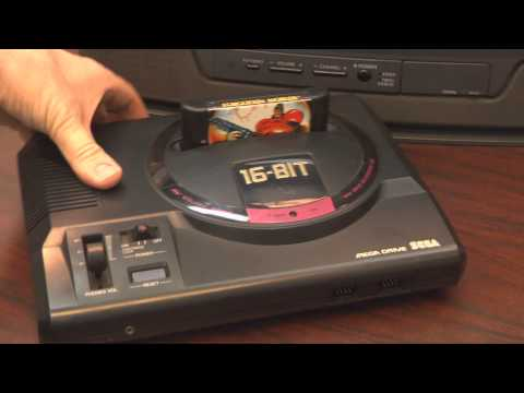 Classic Game Room - SEGA MEGA DRIVE console review