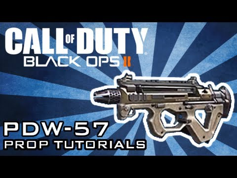 How To Make A Homemade PDW 57 - Black Ops 2