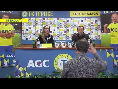Tisková konference hostujícího týmu po utkání Teplice - Olomouc (15.2.2020)
