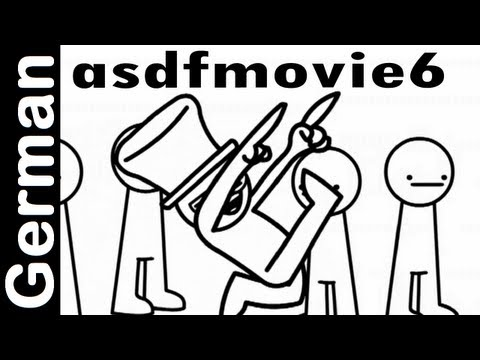 Asdfmovie6 - German Deutsch Original Offiziell - Asdf Movie 6 © Tomska video