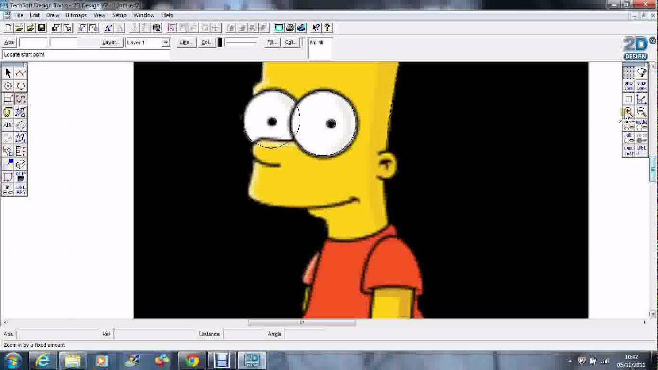 Techsoft 2d design tools tracing a drawing youtube for 2d blueprint maker