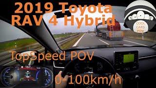 2019 Toyota Rav 4 2.5L Hybrid Highway POV / 0-100 / TopSpeed / Virtual Mirror