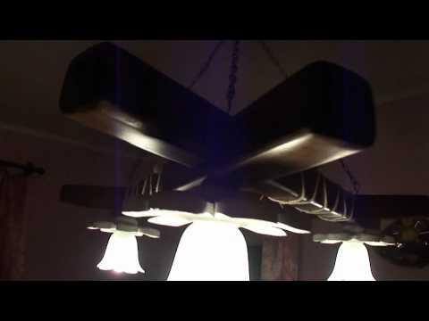 Светильники из дерева в японском стиле