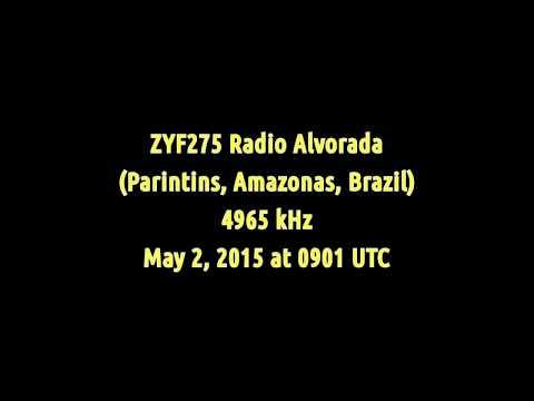 ZYF275 Radio Alvorada (Parintins, Amazonas, Brazil) - 4965 kHz