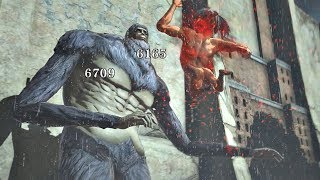 ATTACK ON TITAN 2 - Silver BEAST TITAN vs Ymir Titan & Reiner Armored Titan (PS4 PRO)