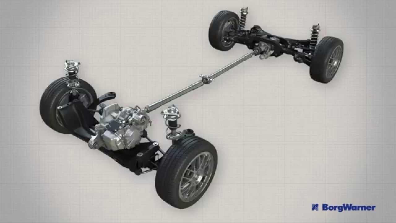Subaru All Wheel Drive >> Haldex Gen V all-wheel drive system - YouTube