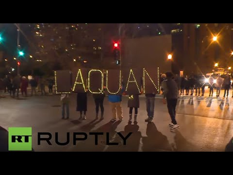 USA: Hundreds protest in Chicago after police shooting video released