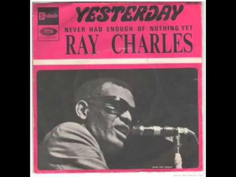 Ray Charles - Yesterday