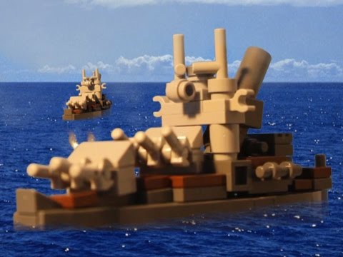 A squadron of Helldiver dive bombers escorted by Corsairs approach the Japanese warships of Battle Group C commanded by Admiral Yunomi Notahomo. Another dogfight between Lego Corsairs and...