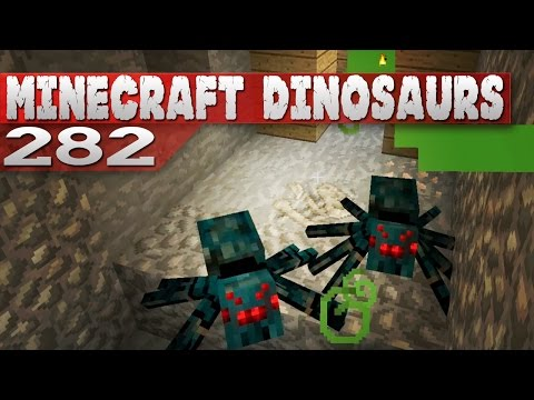 Minecraft Dinosaurs 282 Dig Site for New Fossils